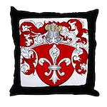 Nederneyer Family Crest Throw Pillow