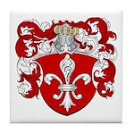 Nederneyer Family Crest Tile Coaster