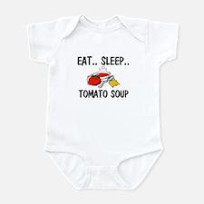 Eat ... Sleep ... TOMATO SOUP Infant Bodysuit