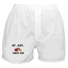Eat ... Sleep ... TOMATO SOUP Boxer Shorts