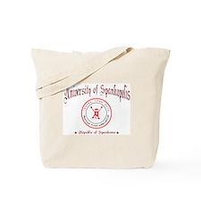 university of spankopolis tote bag