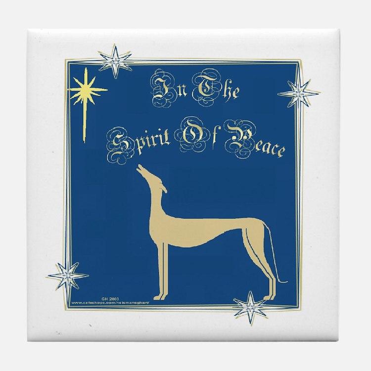 SPIRIT OF PEACE TILE COASTER