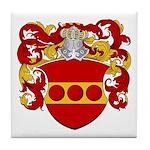 Nellen Family Crest Tile Coaster