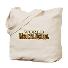 World of Medical School Tote Bag