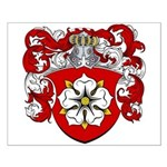 Nobel Family Crest Small Poster
