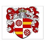 Oyens Family Crest Small Poster