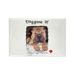 SWEET DOG LOOK Rectangle Magnet