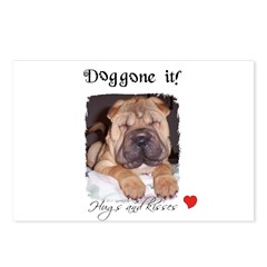 SWEET DOG LOOK Postcards (Package of 8)