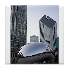 Chicago, Illinois Tile Coaster