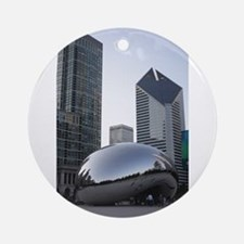 Chicago, Illinois Ornament (Round)