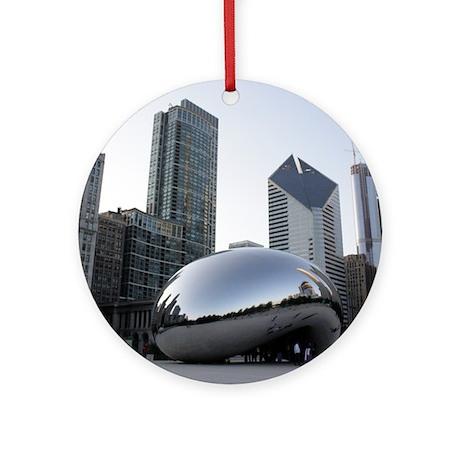 Chicago, Illinois Ornament (Round)