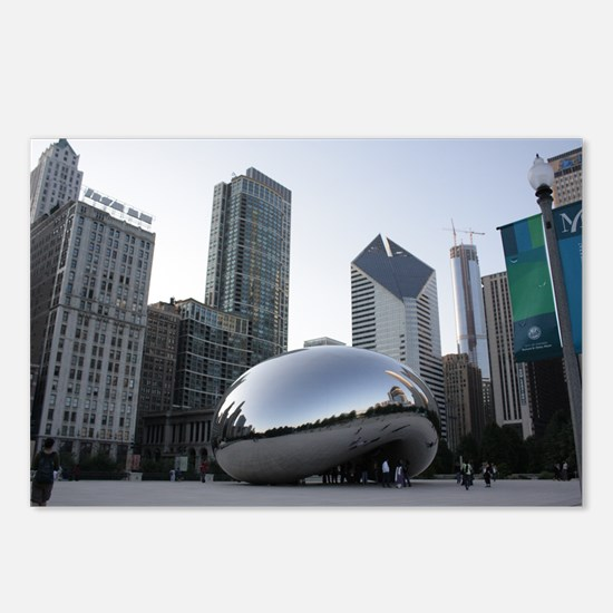 Chicago, Illinois Postcards (Package of 8)