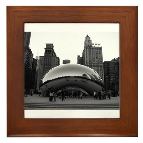Chicago, Illinois Framed Tile