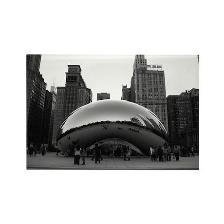 Chicago, Illinois Rectangle Magnet