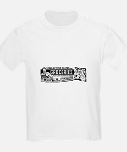 Stock Up With Groceries Kids T-Shirt