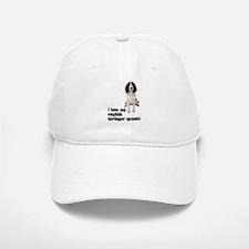 I Love My Springer Spaniel Baseball Baseball Cap