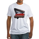 Austin Outlaws Fitted T-Shirt - Front Only