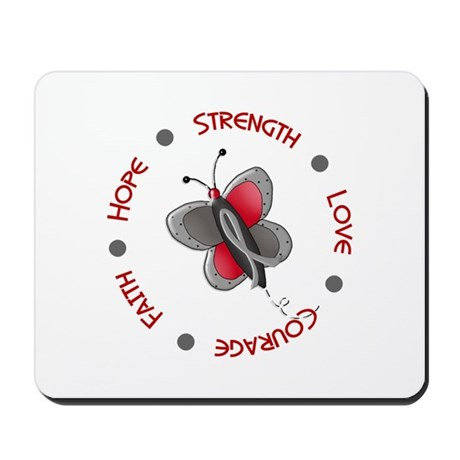 Hope Courage 1 Butterfly 2 PD Mousepad