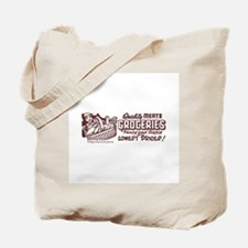 Qualtity Meats And Grocerie Tote Bag