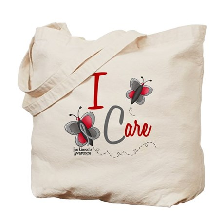 I Care 1 Butterfly 2 PD Tote Bag