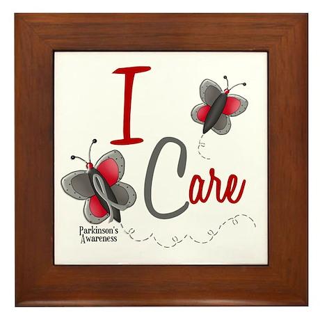 I Care 1 Butterfly 2 PD Framed Tile