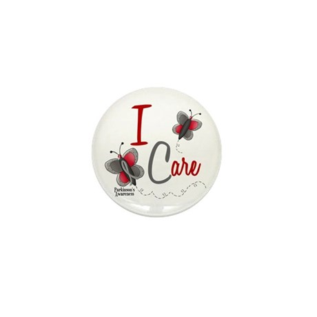 I Care 1 Butterfly 2 PD Mini Button (10 pack)