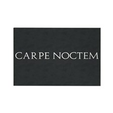 Carpe Noctem Rectangle Magnet