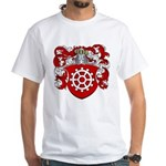 Proost Family Crest White T-Shirt