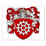 Proost Family Crest Small Poster