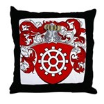 Proost Family Crest Throw Pillow