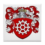 Proost Family Crest Tile Coaster