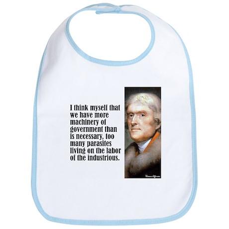 "Jefferson ""I Think"" Bib"