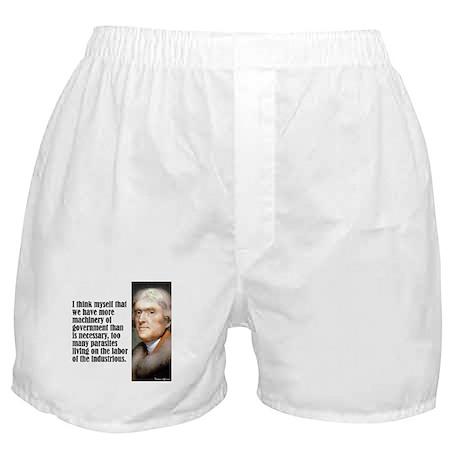 """Jefferson """"I Think"""" Boxer Shorts"""