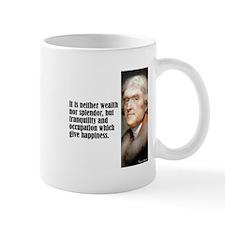 "Jefferson ""Happiness"" Mug"