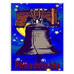 Starry Night Philadelphia Small Poster