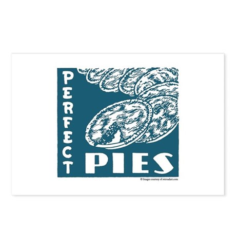 Perfect Pies Postcards (Package of 8)