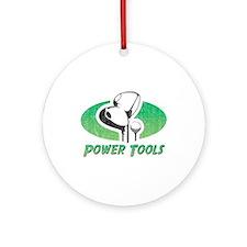 Golf Power Tools Ornament (Round)