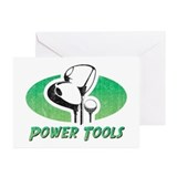 Funny golf Greeting Cards (20 Pack)