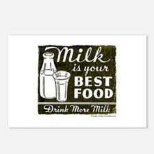 Milk Is Your Best Food Postcards (Package of 8)