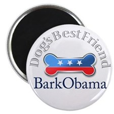 Bark Obama Dog's Best Friend Magnet