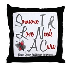 Someone I Love 1 Butterfly 2 PD Throw Pillow