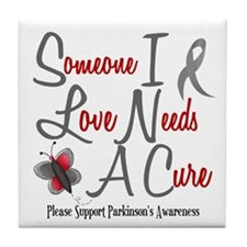 Someone I Love 1 Butterfly 2 PD Tile Coaster