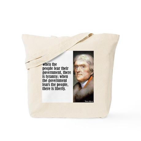 """Jefferson """"Liberty"""" Tote Bag"""