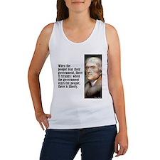 """Jefferson """"Liberty"""" Women's Tank Top"""