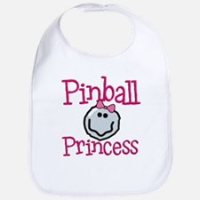 Pinball Princess Bib
