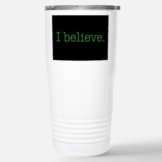 I Believe (Alien) Stainless Steel Travel Mug