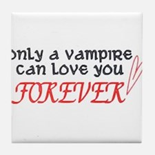 twilight - only a vampire can Tile Coaster