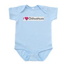 I LUV CHIHUAHUAS Infant Creeper