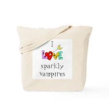 Twilight Sparkly Vampire Tote Bag