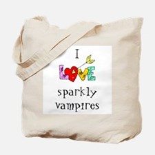 Twilight Sparkly Vampire Tote Bag